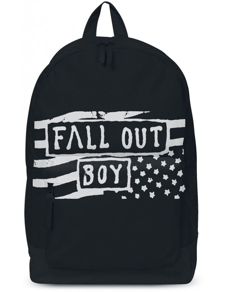 Fall Out Boy Flag Sac à Dos noir