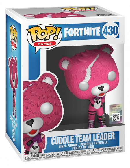 Fortnite Cuddle Team Leader - Funko Pop! n°430 Figurine de collection Standard