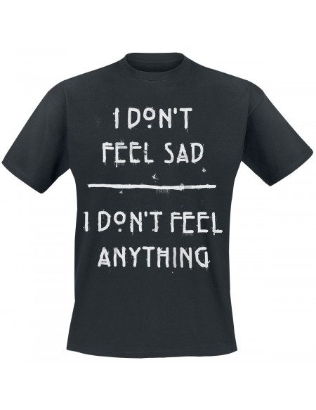 American Horror Story I Don´t Feel Sad T-shirt noir