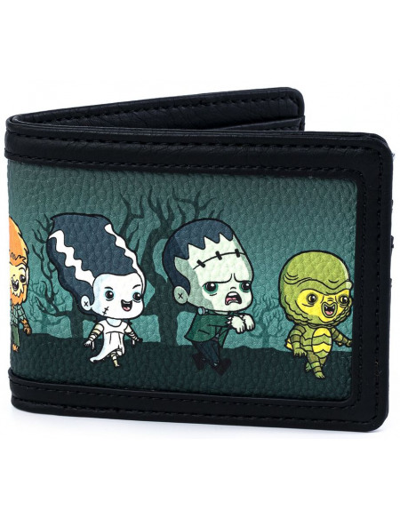Monstres Universels Loungefly - Personnages - Chibi Portefeuille multicolore