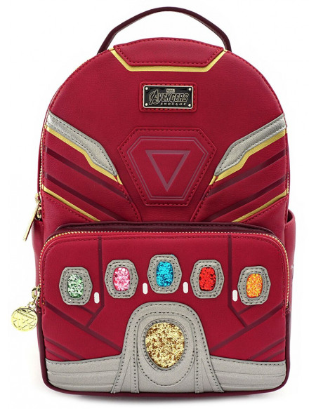 Iron Man Loungefly - Endgame Hero Sac à Dos rouge