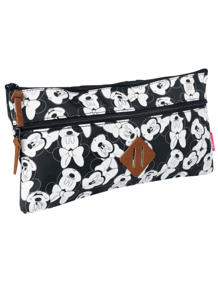 Mickey & Minnie Mouse Minnie Trousse de Toilette noir/blanc