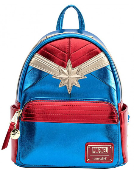 Captain Marvel Loungefly - Captain Marvel Sac à Dos multicolore