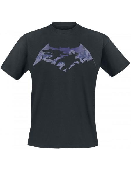 Batman v Superman Battle T-shirt noir