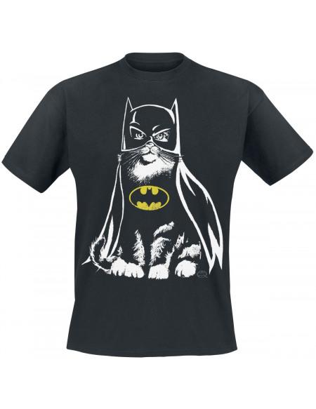 Batman Chat T-shirt noir
