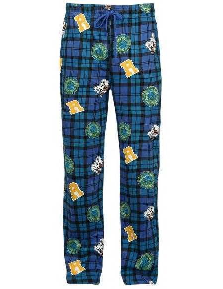 Riverdale Patch Bas de pyjama bleu foncé