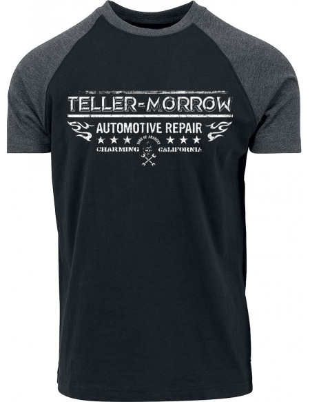 Sons Of Anarchy Teller Morrow T-shirt noir/anthracite