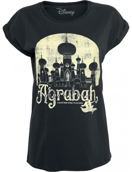 Aladdin Agrabah T-shirt Femme noir