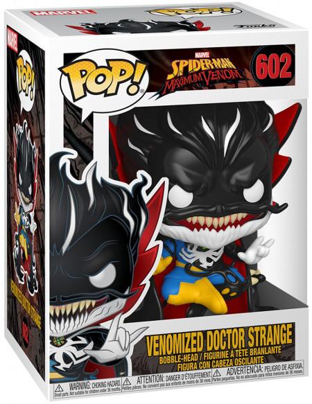 Figurines Funko Pop Spider-Man Venom Docteur Strange