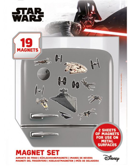 Star Wars Death Star Battle (Set) Magnette frigo multicolore