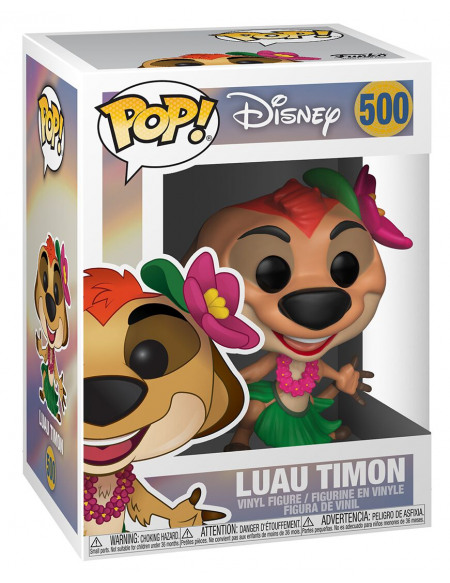 Le Roi Lion Timon Luau - Funko Pop! n°500 Figurine de collection Standard