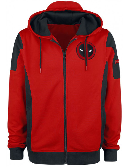 Deadpool Costume Veste de Survêtement multicolore