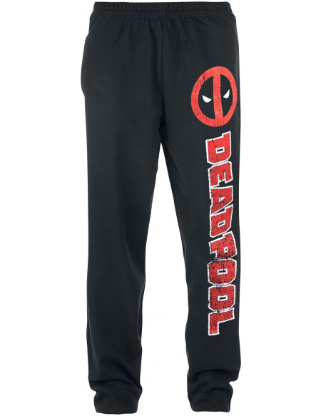Deadpool Symbole Pantalon de Jogging noir