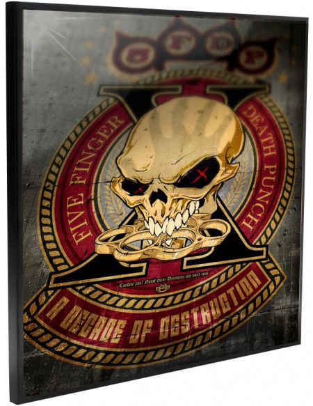 Five Finger Death Punch Decade of Destruction - Crystal Clear Picture Photo murale Standard