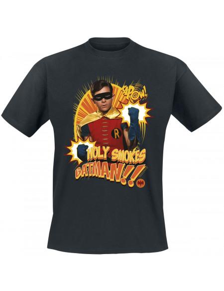 Batman Holy Smokes Batman! T-shirt noir