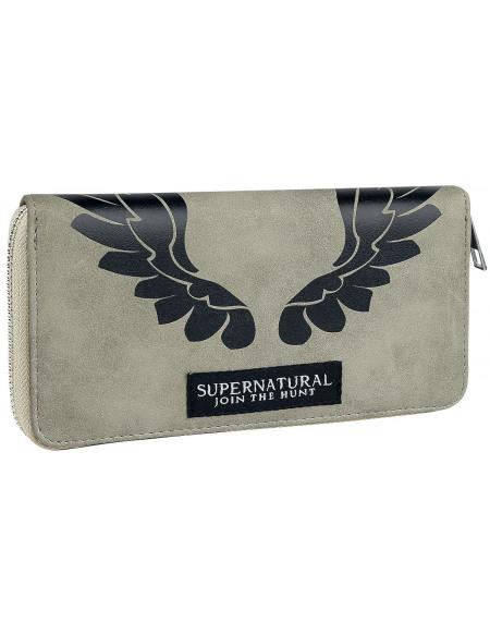 Supernatural Castiel Portefeuille gris