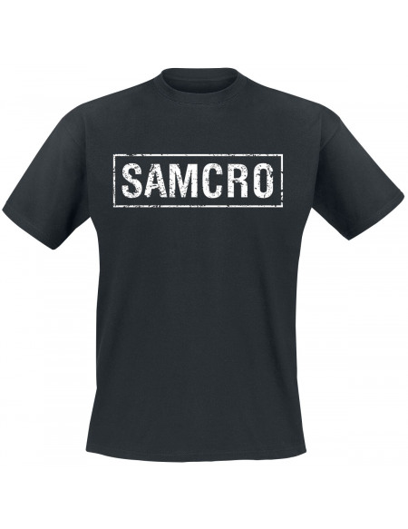 Sons Of Anarchy Samcro Banner T-shirt noir