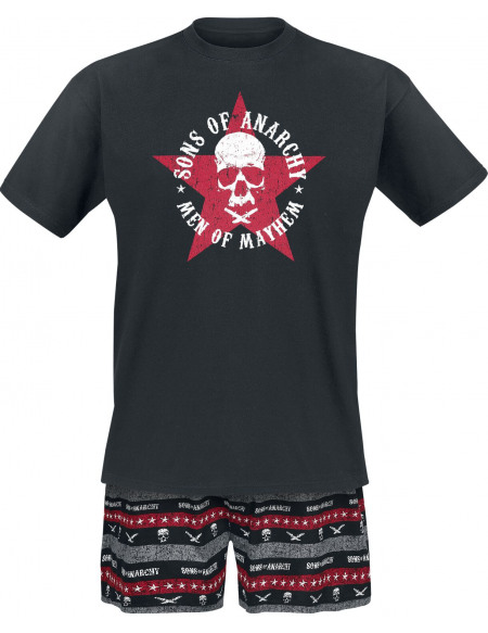 Sons Of Anarchy Men Of Mayhem Pyjama noir