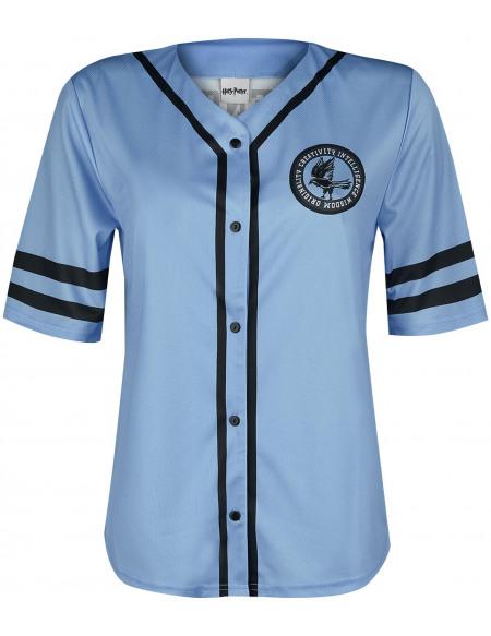Harry Potter Serdaigle T-shirt Femme bleu