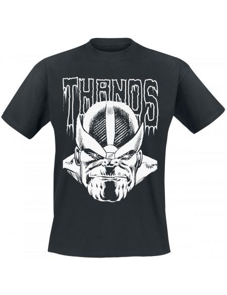 Avengers Thanos T-shirt noir