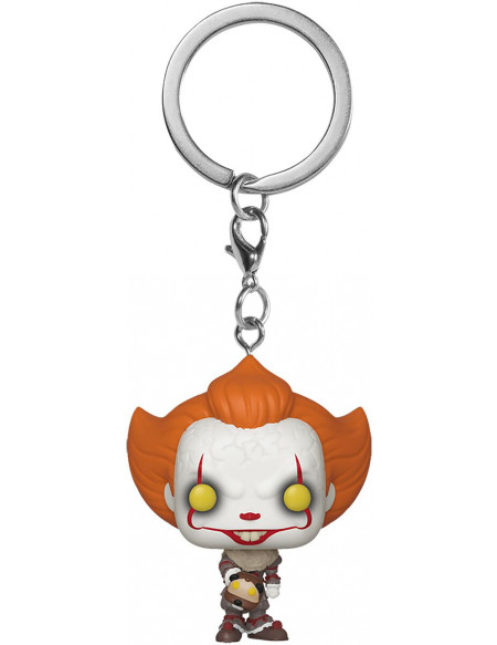 Porte-clés Funko Pop Pocket Keychain Pennywise with Beaver Hat