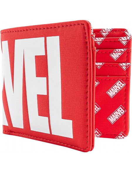 Marvel Loungefly - Logo Marvel Portefeuille rouge/blanc