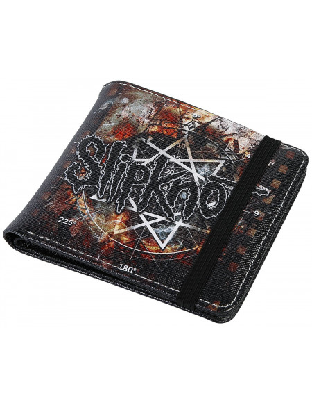 Slipknot Pentacle Portefeuille noir