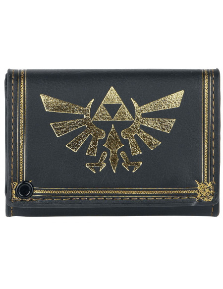 The Legend Of Zelda Triforce Portefeuille noir