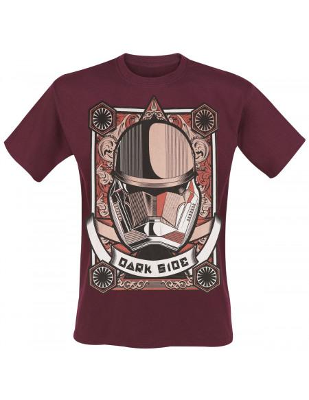 Star Wars Épisode 9 - L'Ascension De Skywalker - Dark Side T-shirt rouge