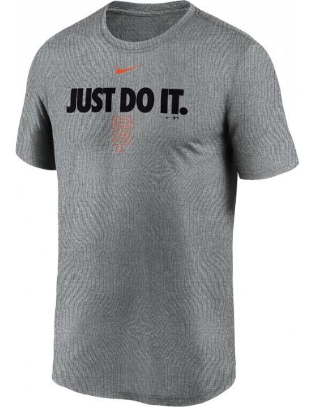 MLB Nike - San Francisco Giants Legends T-shirt gris sombre chiné