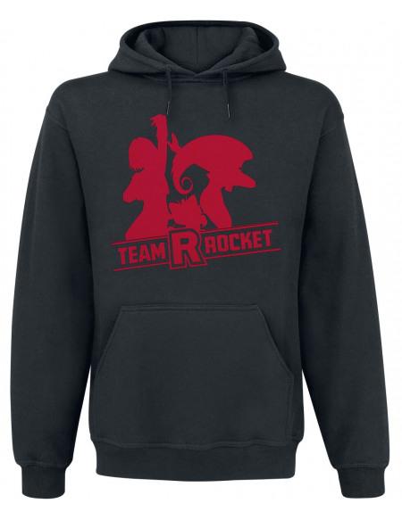 Pokémon Team Rocket Sweat à capuche noir