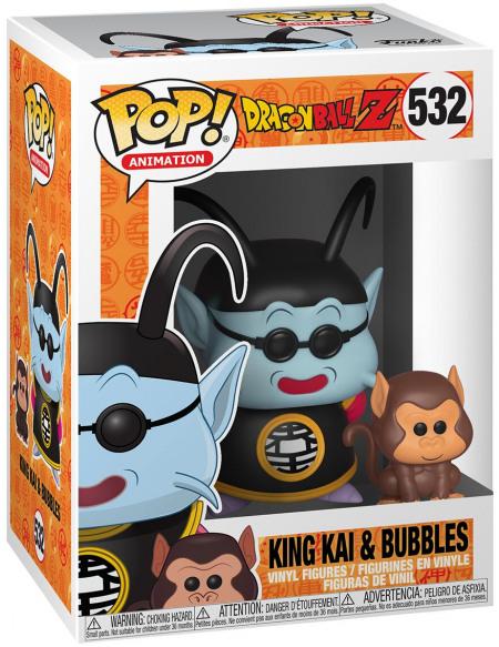 Dragon Ball Dragon Ball Z - Maître Kaio et Bubbles - Funko Pop! n°532 Figurine de collection Standard