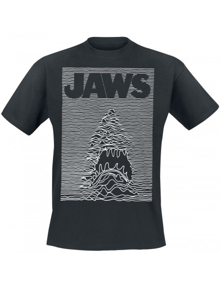 Jaws Ripple T-shirt noir
