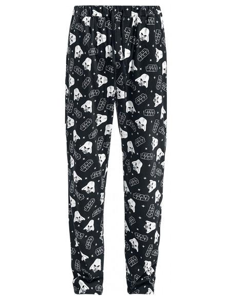 Star Wars Dark Vador Bas de pyjama noir