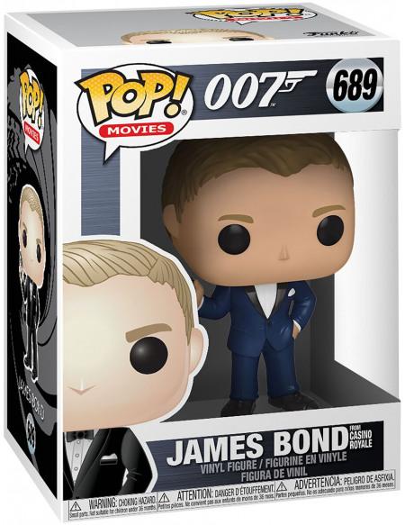Figurine Funko Pop Movies James Bond Casino Royale Daniel Craig