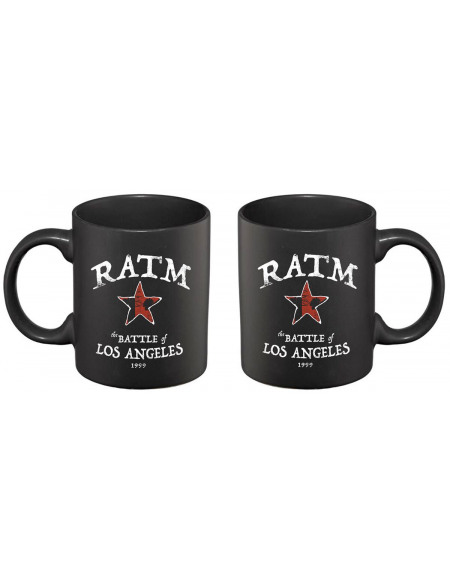Rage Against The Machine Battle Of L.A. Mug noir