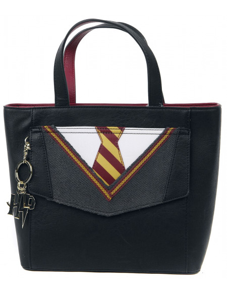 Harry Potter Loungefly - Uniforme Gryffondor Sac à Main noir