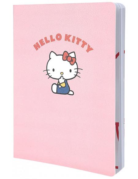 Hello Kitty Cahier de Luxe A5 Cahier rose clair