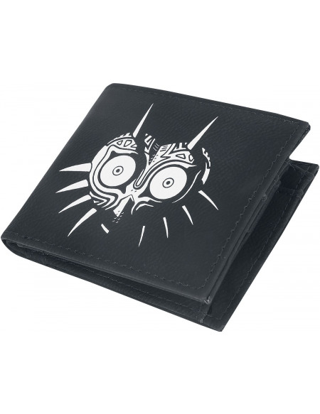 The Legend Of Zelda Masque De Majoras Portefeuille noir/blanc