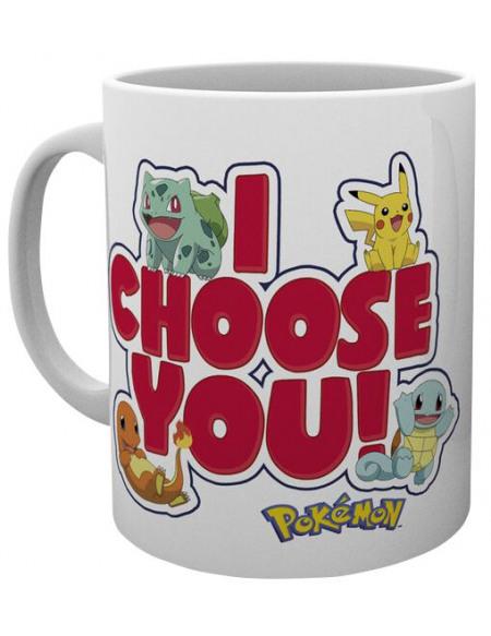 Pokémon I Choose You Mug multicolore