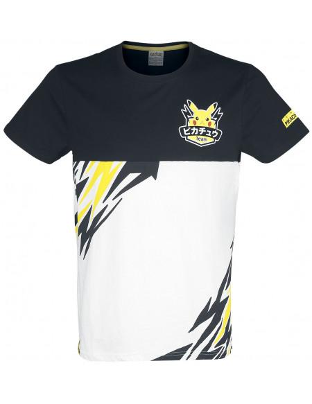 Pokémon Olympics - Team Pika T-shirt noir/blanc/jaune