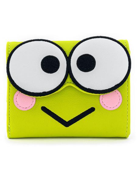 Hello Kitty Loungefly - Keroppi Portefeuille vert