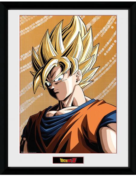 Dragon Ball Dragon Ball Z - Goku Photo encadrée Standard