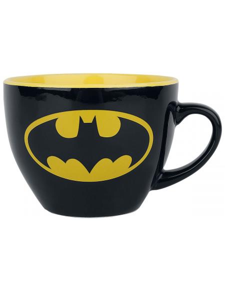 Batman Tasse À Cappuccino & Pochoir Mug noir