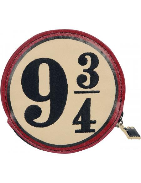 Harry Potter Platform 9 3/4 Portefeuille rouge/beige