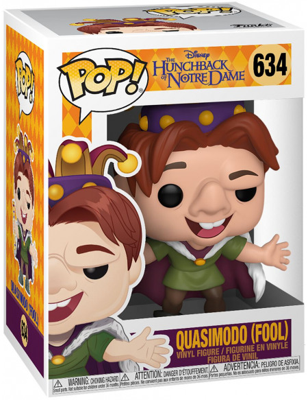 Figurine Funko Pop Disney Quasimodo Fool Le Bossu De Notre Dame