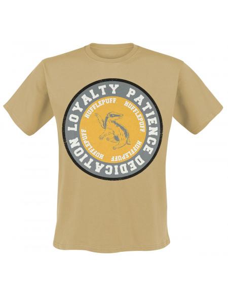 Harry Potter Hufflepuff - Loyalty T-shirt beige