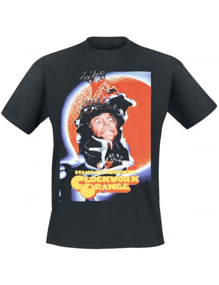 Clockwork Orange Poster T-shirt noir