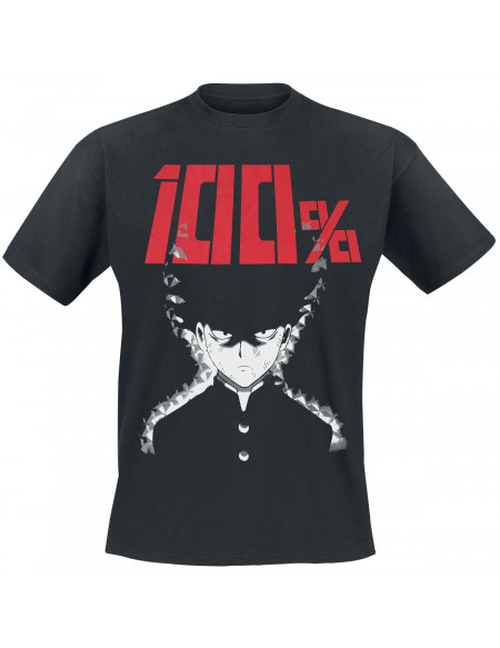 Mob Psycho 100 100% T-shirt noir