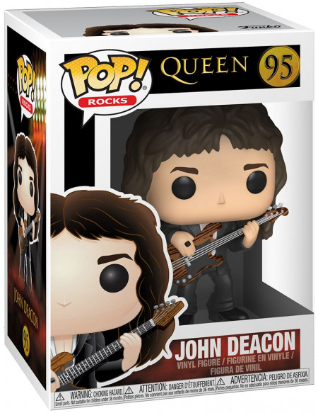 Queen John Deacon Rocks Vinyl Figure 95 Figurine de collection Standard